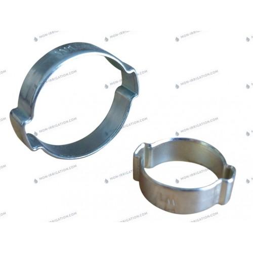 Colliers de serrage a 2 oreilles NORMA