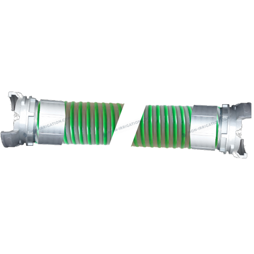 Tuyau ARIZONA diamètre 70 mm avec raccords Guillemin sertis