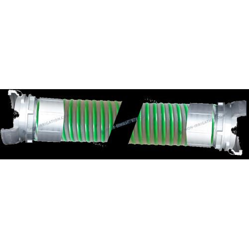 Tuyau ARIZONA diamètre 102 mm avec raccords Guillemin sertis